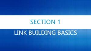 Link Building Basics