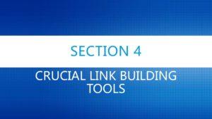 Crucial Link Building Tools